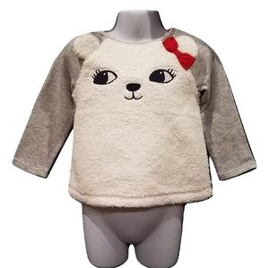 Gymboree Girls Bear Sweat Shirt NWT Size 2T